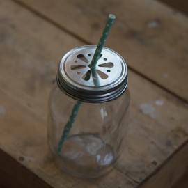Glasburk med Daisy lock